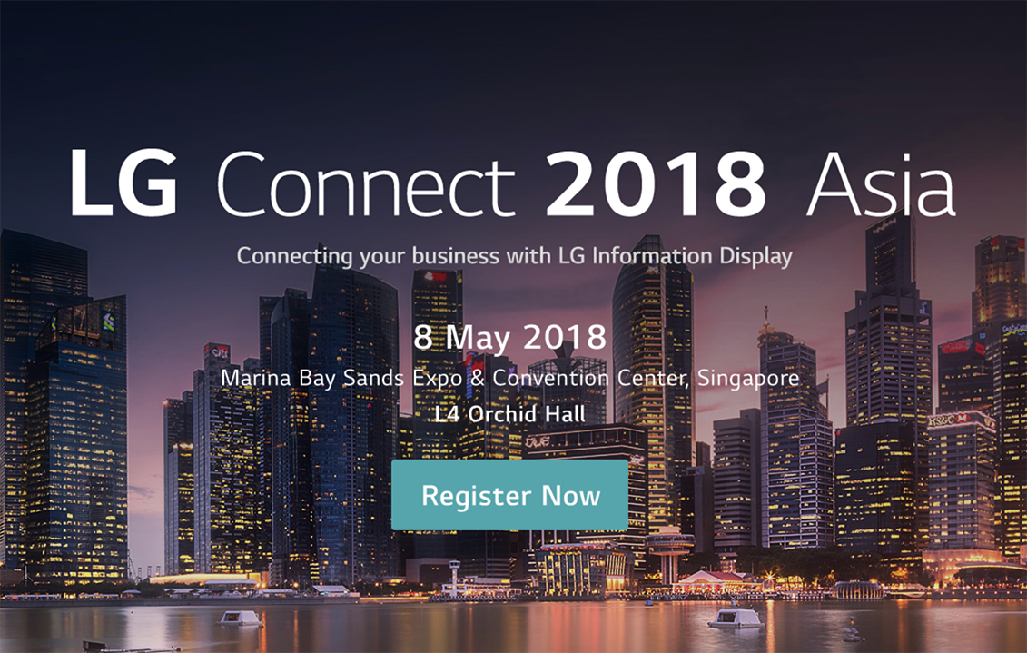 LG Connect 2018 Asia